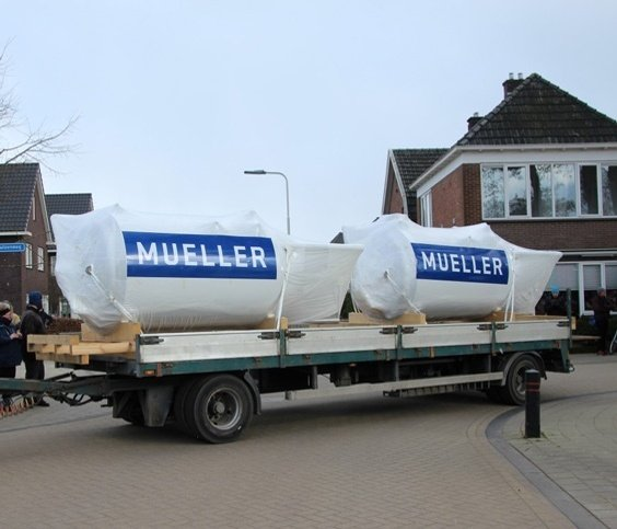 Brouwersnös Tank Delivery