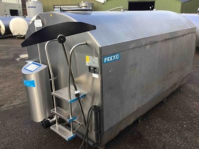 RM/IB Packo Used Milk Tank Models